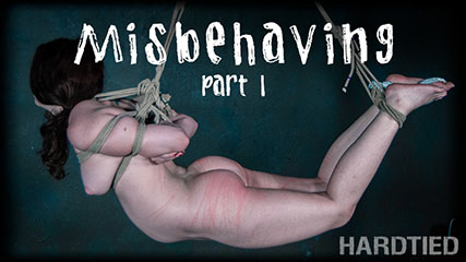 Misbehaving Part 1 – Sexy bodied Brie Haven has to wait for her orgasm!